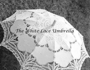 The White Lace Umbrella